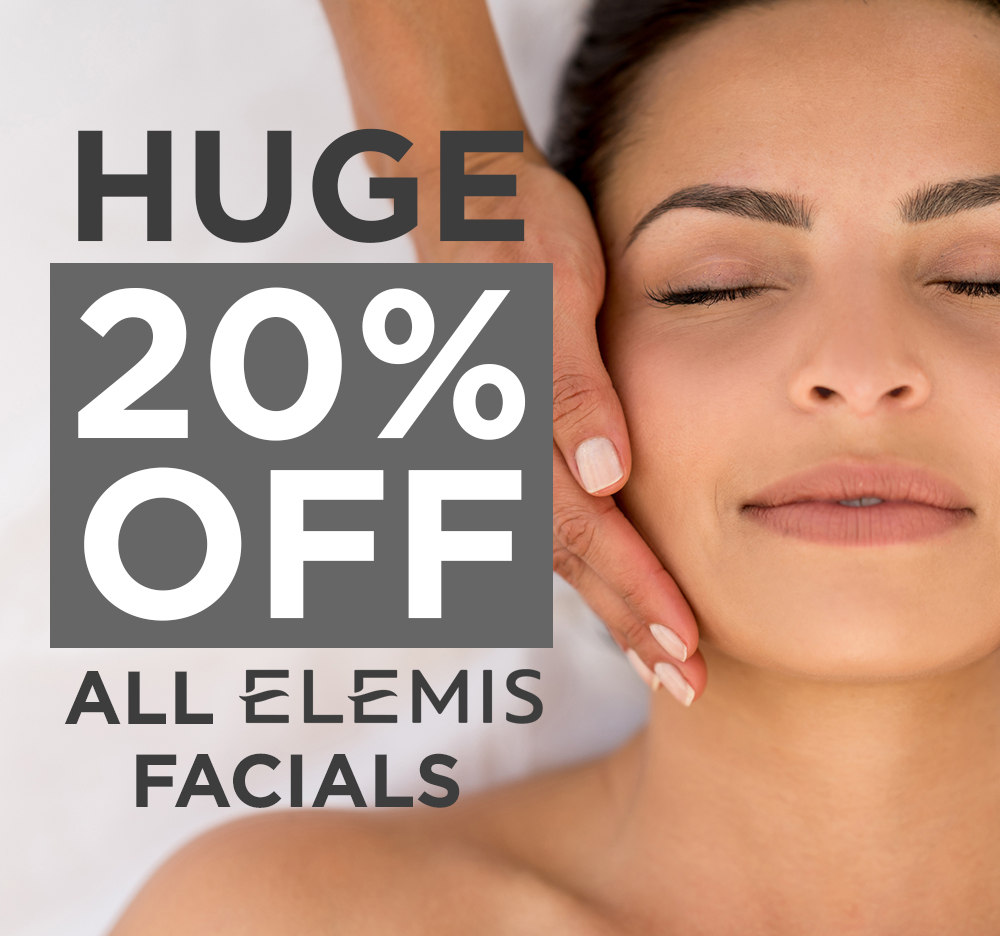 Watch 20 off an Elemis facial video