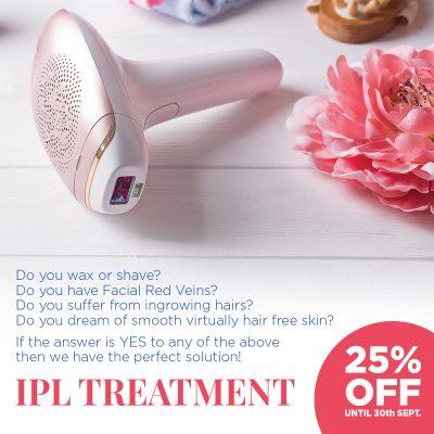 25% off IPL Treatment
