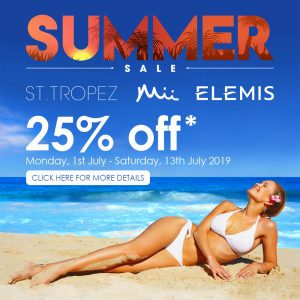Summer Sale - 25% off cosmetics