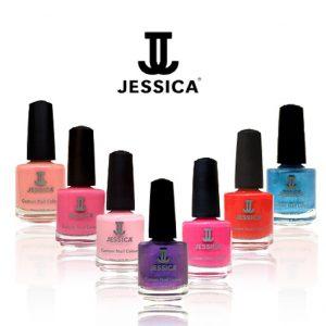 A Range of Jessica Nail Polish Colours
