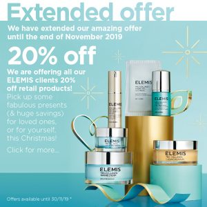 20% off ELEMIS Retail Products