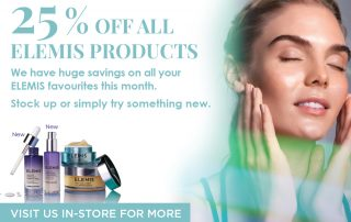 25% off all ELEMIS products this March