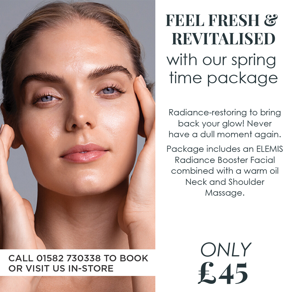 Feel fresh and revitalised with our spring time package