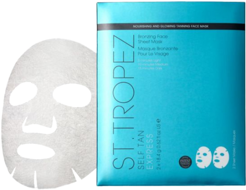 St Tropez Self Tan Express Bronzing Face Sheet