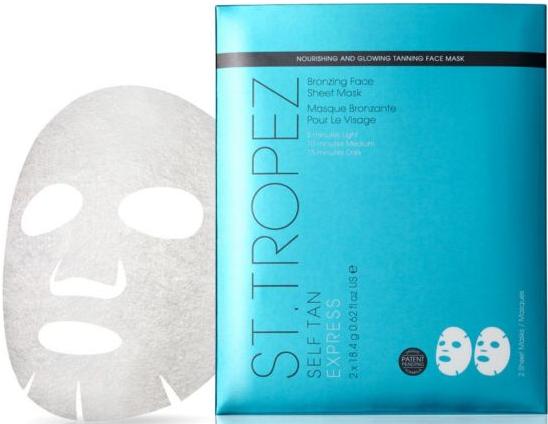 St Tropez Self Tan Express Bronzing Face Sheet